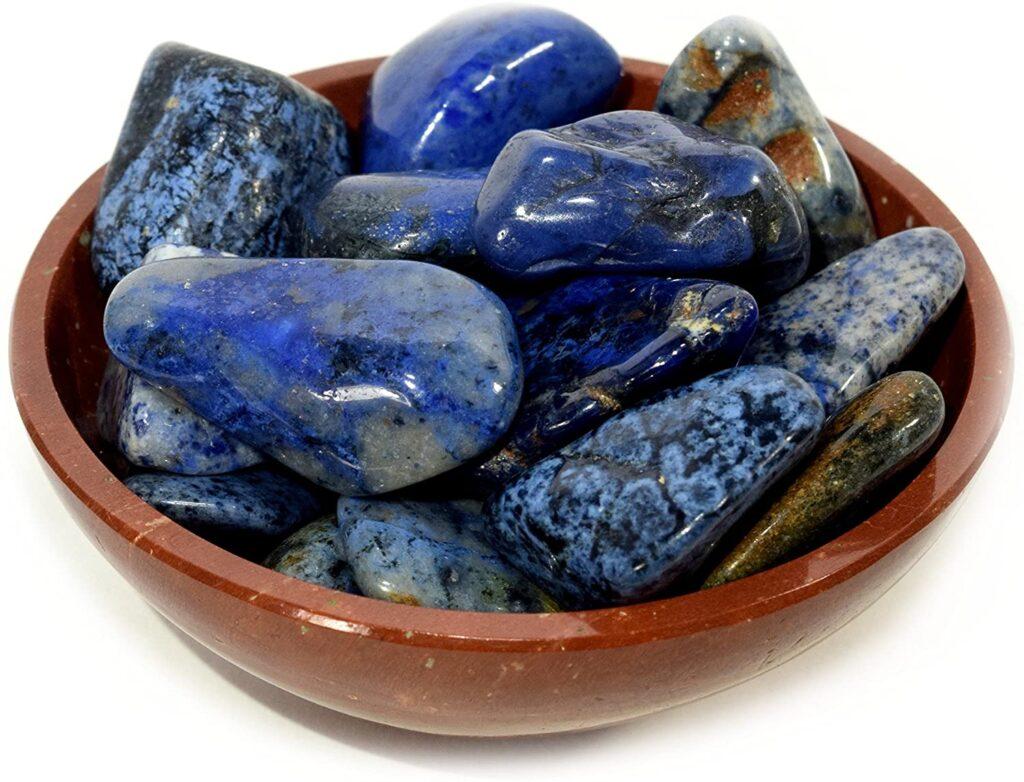 Blue Lace Agate + Dumortierite