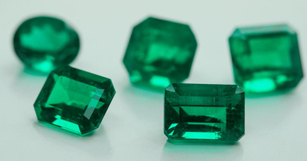 Green Aventurine + Emerald