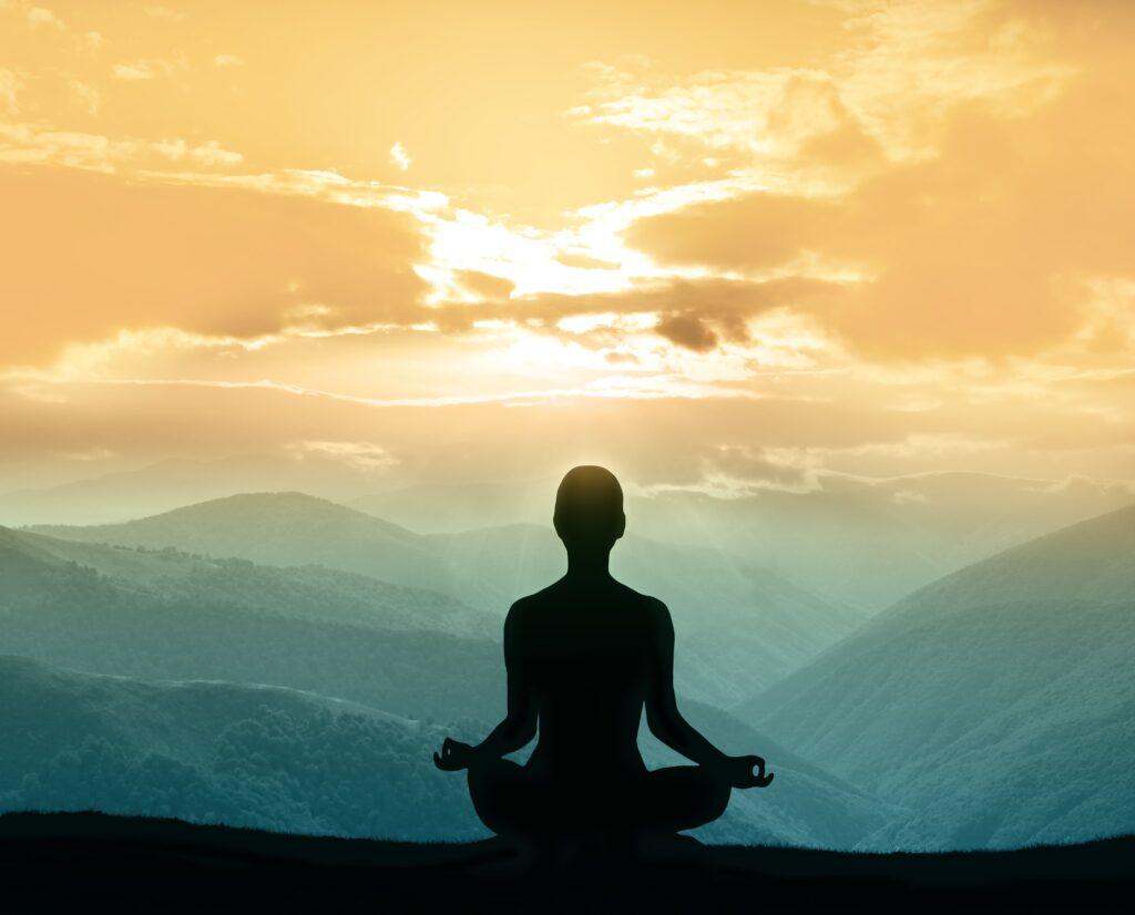 Meditation with Moldavite