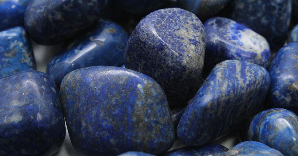 Blue Calcite + Lapis Lazuli