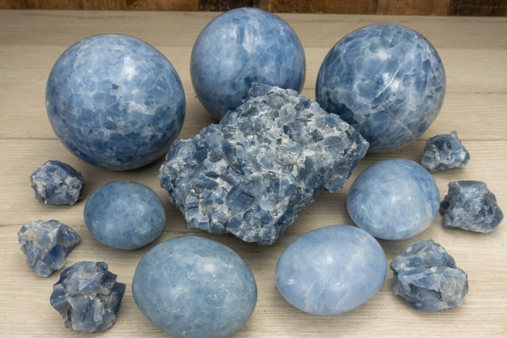 What is Blue Calcite