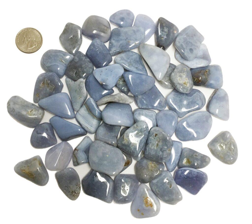 Opalite + Blue Lace Agate