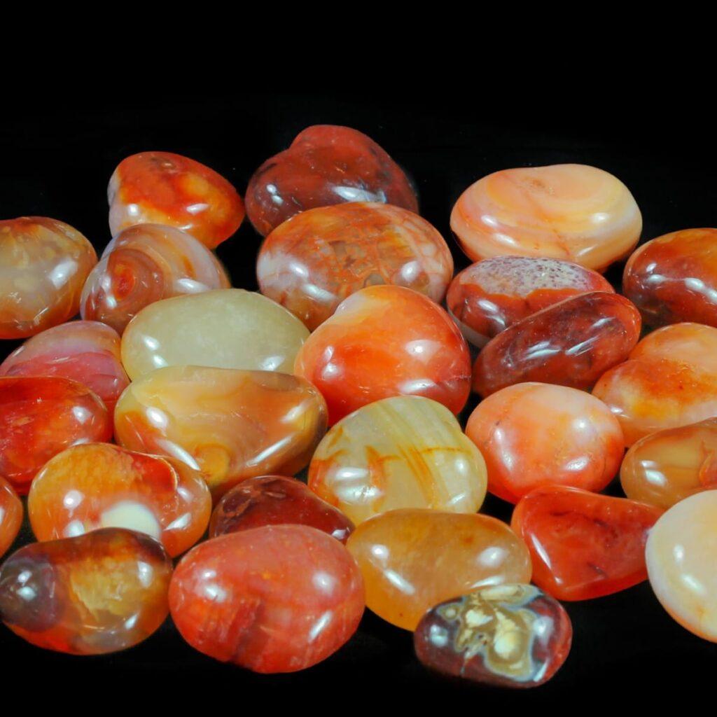 Orange Calcite + Carnelian