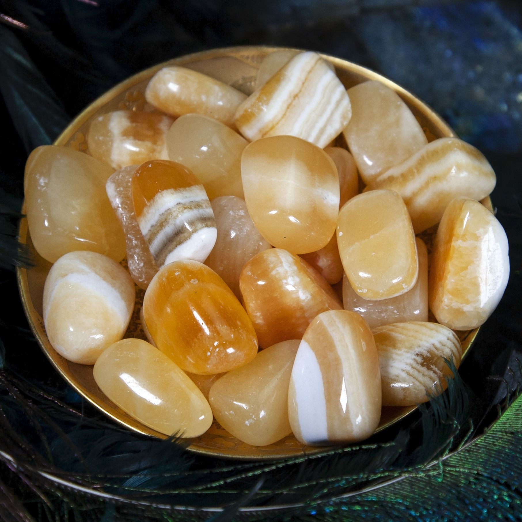Orange Calcite Meanings, Properties and Uses