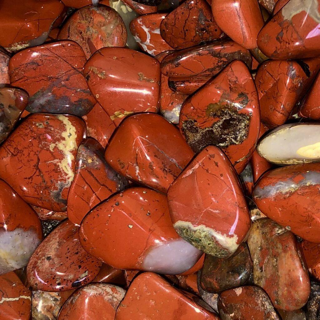 Opalite + Red Jasper