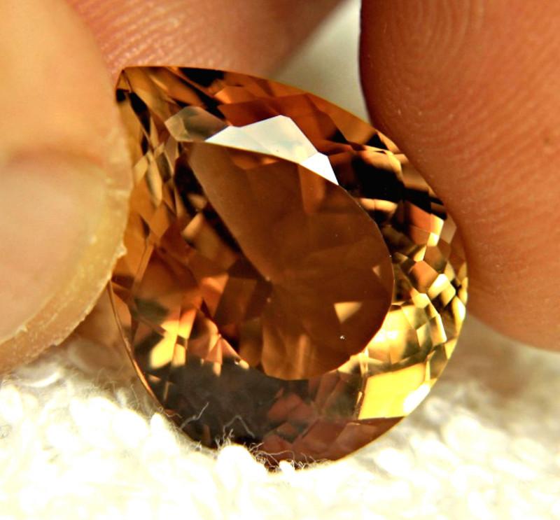 Snowflake Obsidian + Golden Topaz