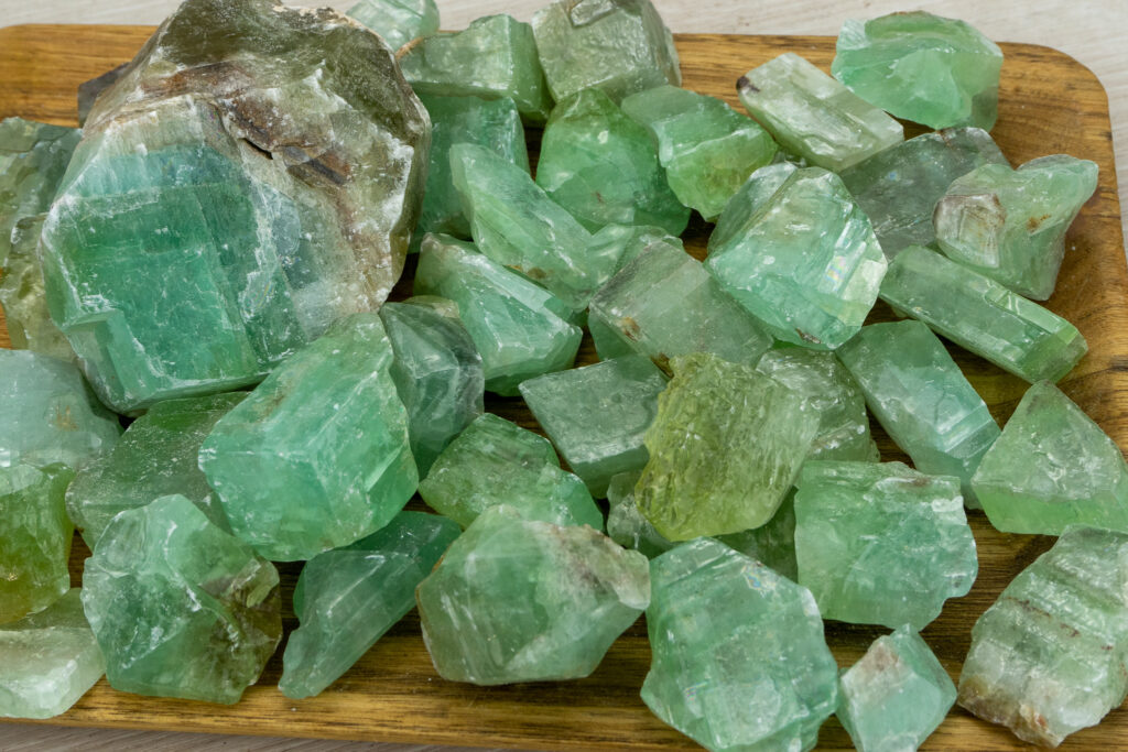 What is Green Calcite