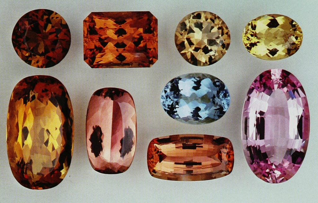 Topaz - What Color is the November Birthstone?