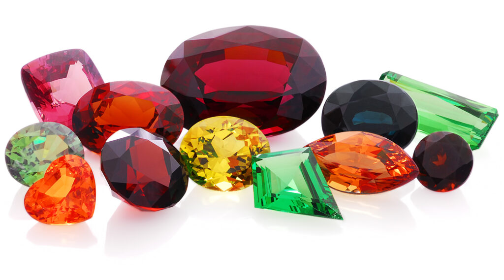 What Color is January Birthstone?