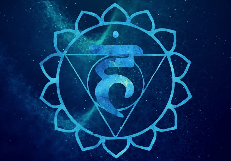 What is the Symbol for the Throat Chakra?
