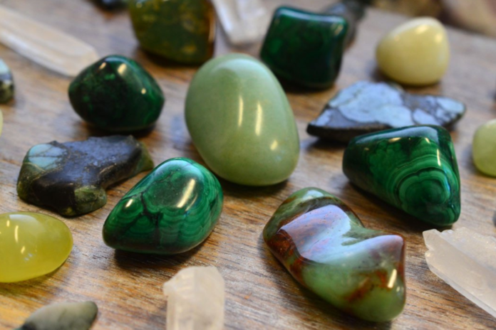 Green Crystal Stones List, Meanings and Uses
