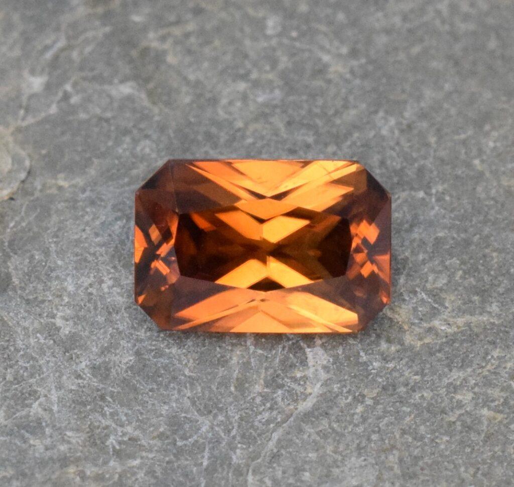 Orange Zircon