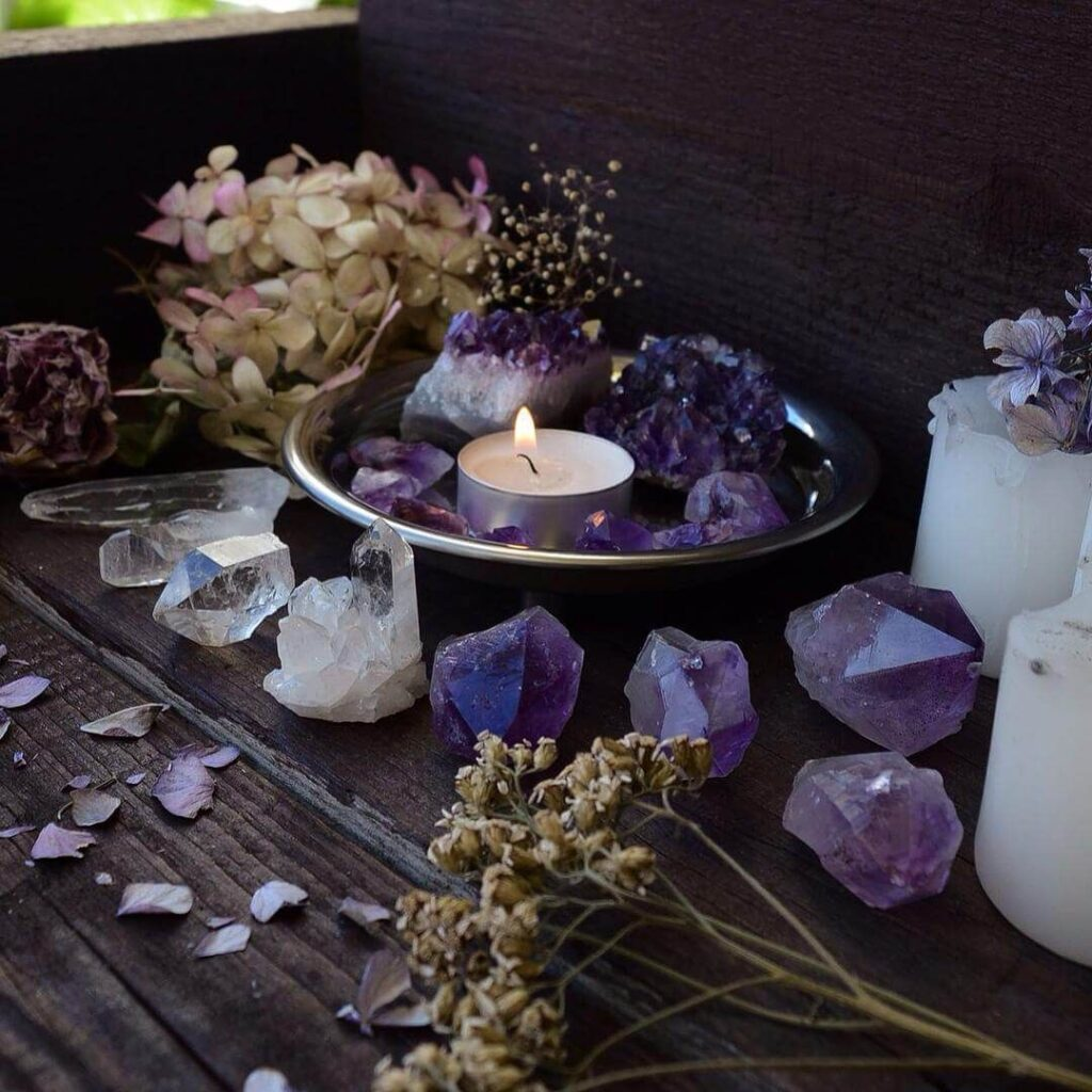 Ways To Use Blue Crystals - Add Stones To Your Altar